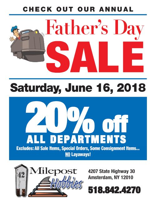 Father's Day Sale 2018